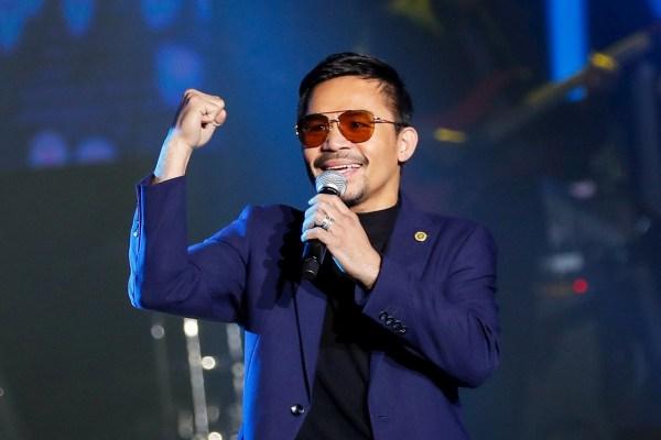 Pacquiao se postulará como candidato a presidente en Filipinas