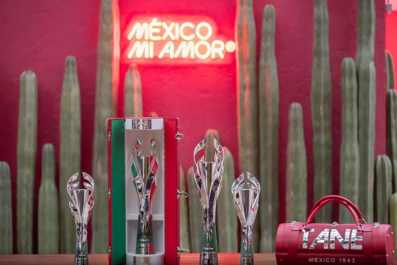 Así serán los trofeos del Gran Premio de la Ciudad de México de la Fórmula Uno