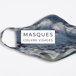Masque couvre-visage artistique