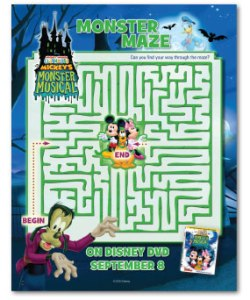 Mickeys Monster Musical Maze