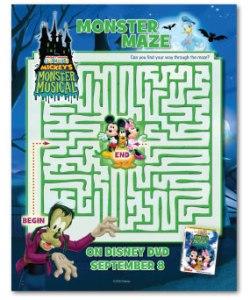 Mickeys Monster Musical Maze