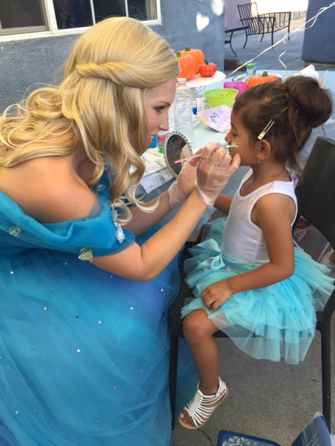 Princess and Me Parties Face Painting