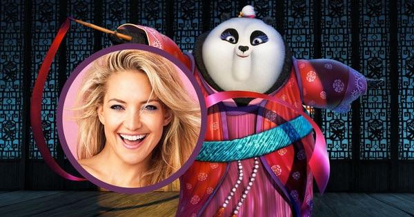 Talking Kung Fu Panda 3 with Kate Hudson