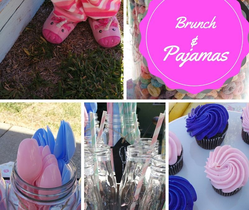 An Outdoor Brunch and Pajama Party