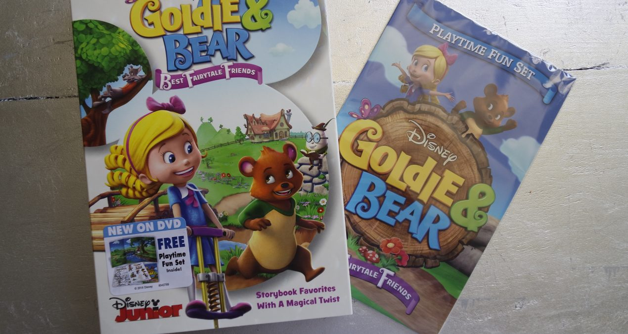 Goldie & Bear: Best Fairytale Friends+Give Away