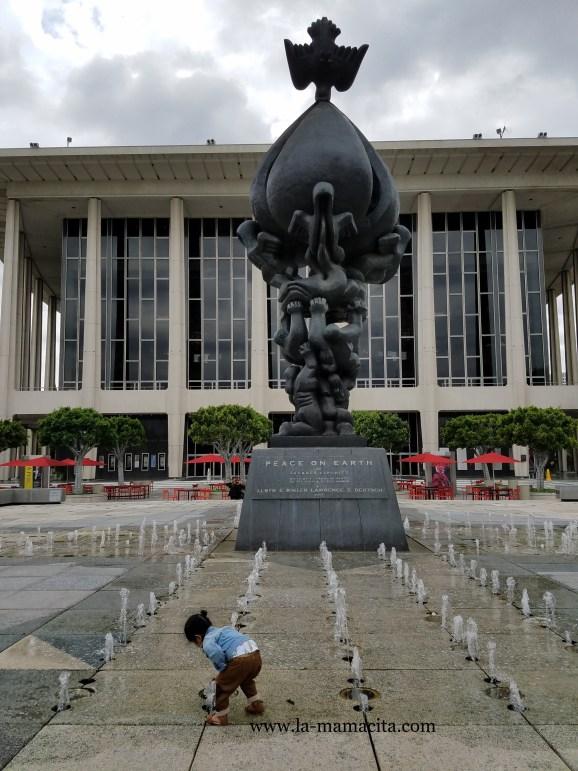 Music Center Statue