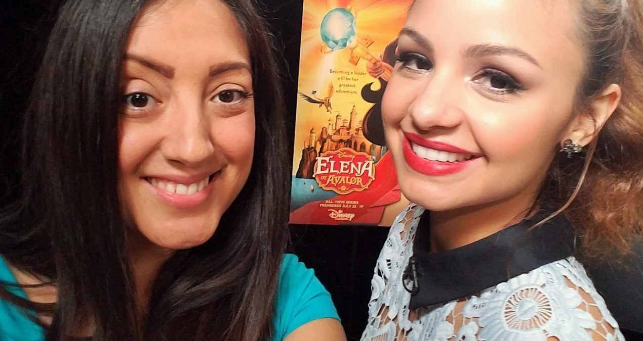 Interview with Aimee Carrero- Princess ELENA OF AVALOR