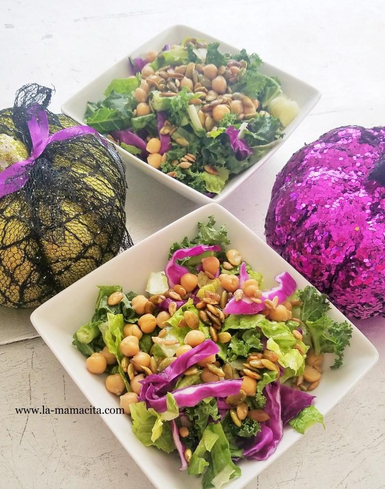Colorful Fall Salad