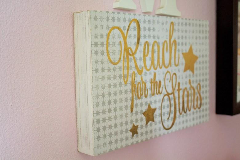 Girls Star Themed Room