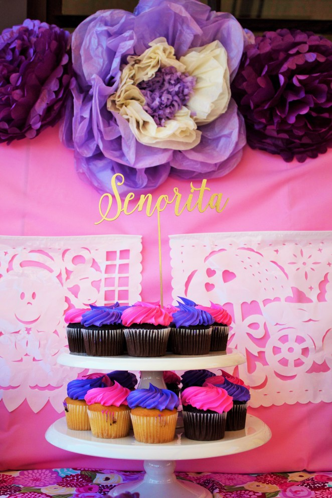 Colorful Fiesta Baby Shower Decor
