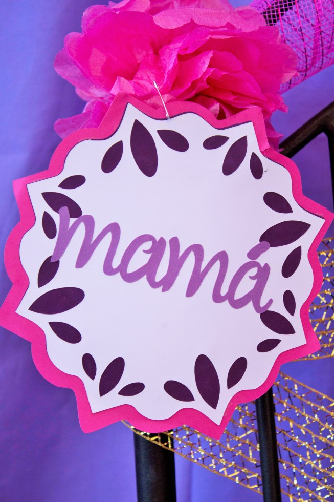 Fiesta Baby Shower Mama Sign