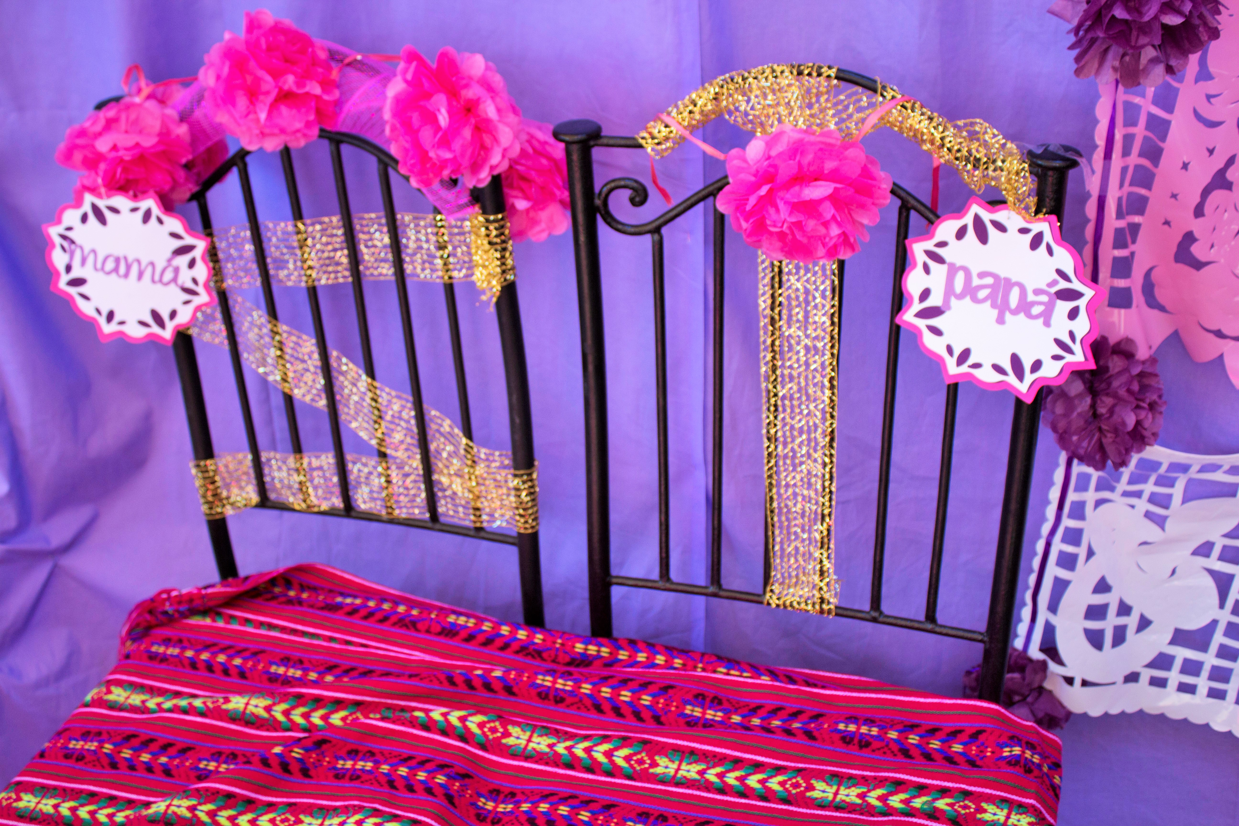 i loved all of the decor the colors and the small details that made the fun and vibrant girly mexican fiesta theme come to life