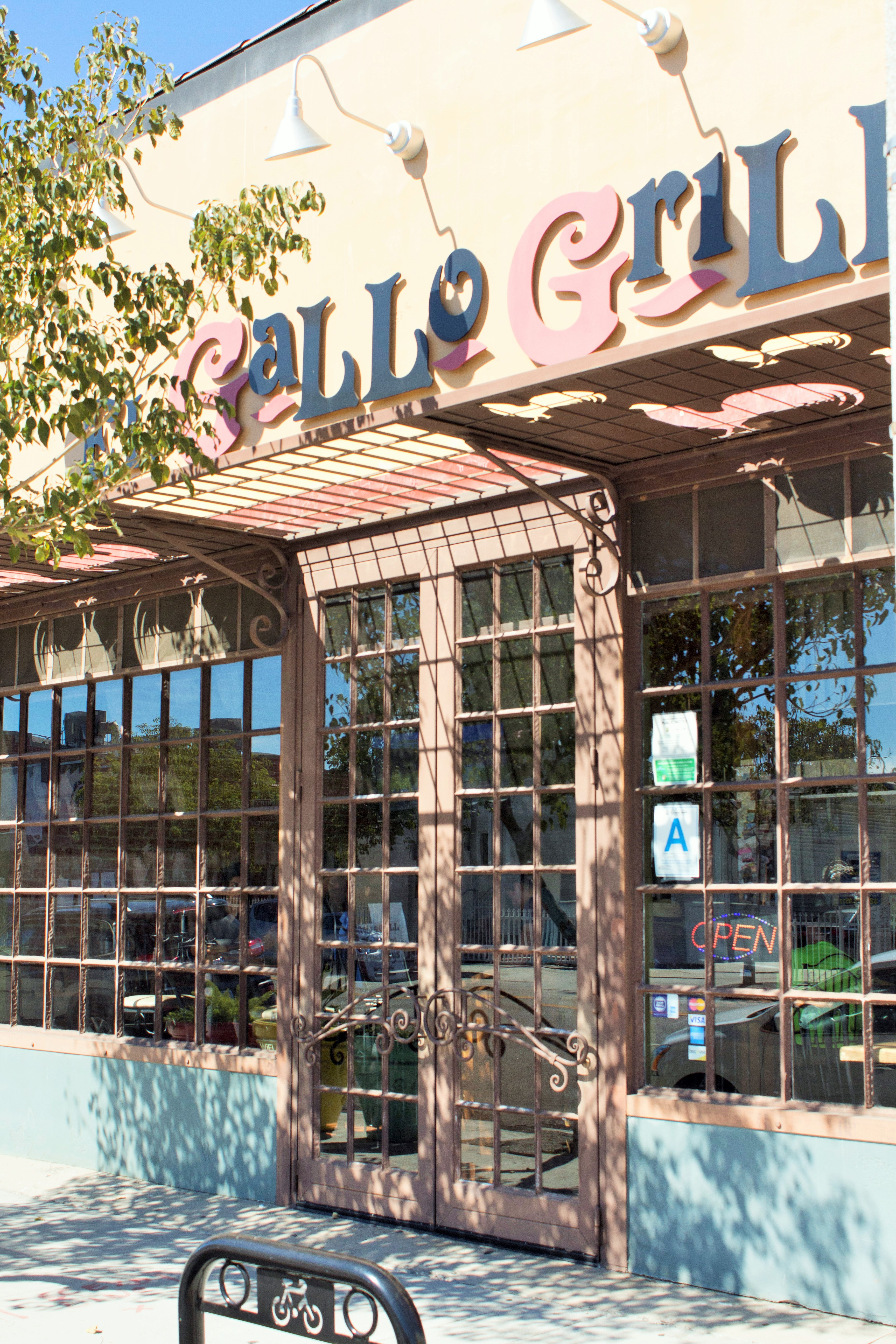 el gallo grill in east los angeles has the perfect patio and it was