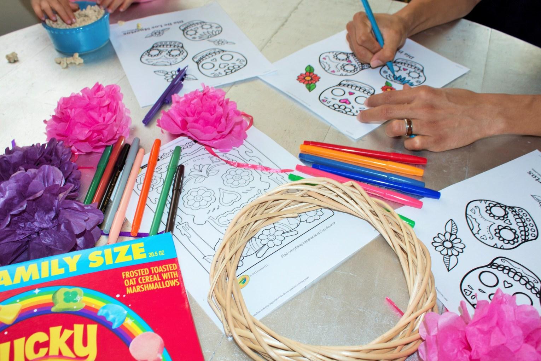 Fun Dia De Los Muertos Activity For Kids