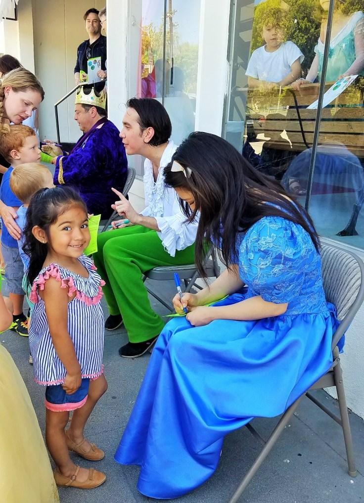 Princess Autographing
