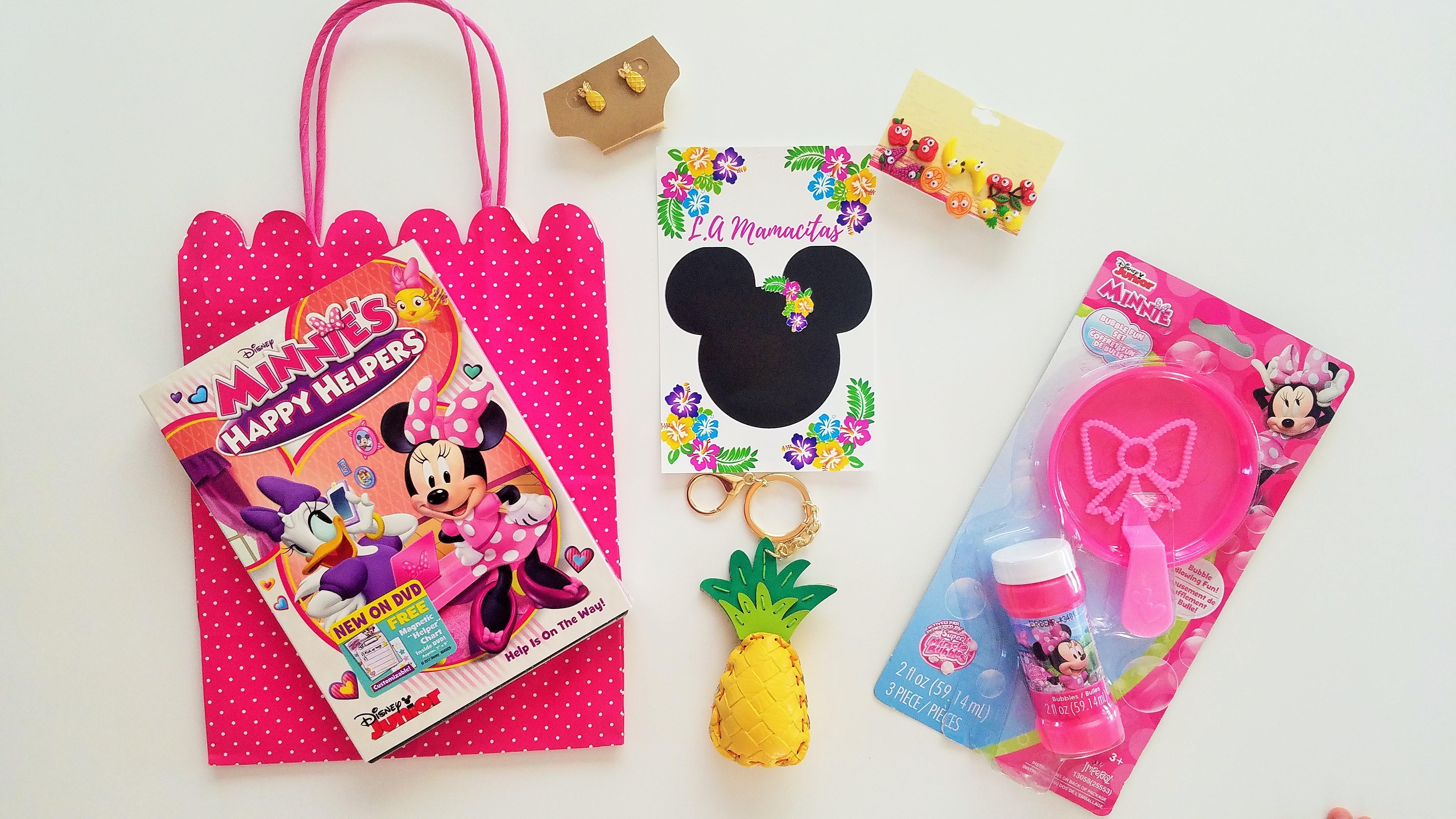 Minnie Mouse Luau Gift Bag