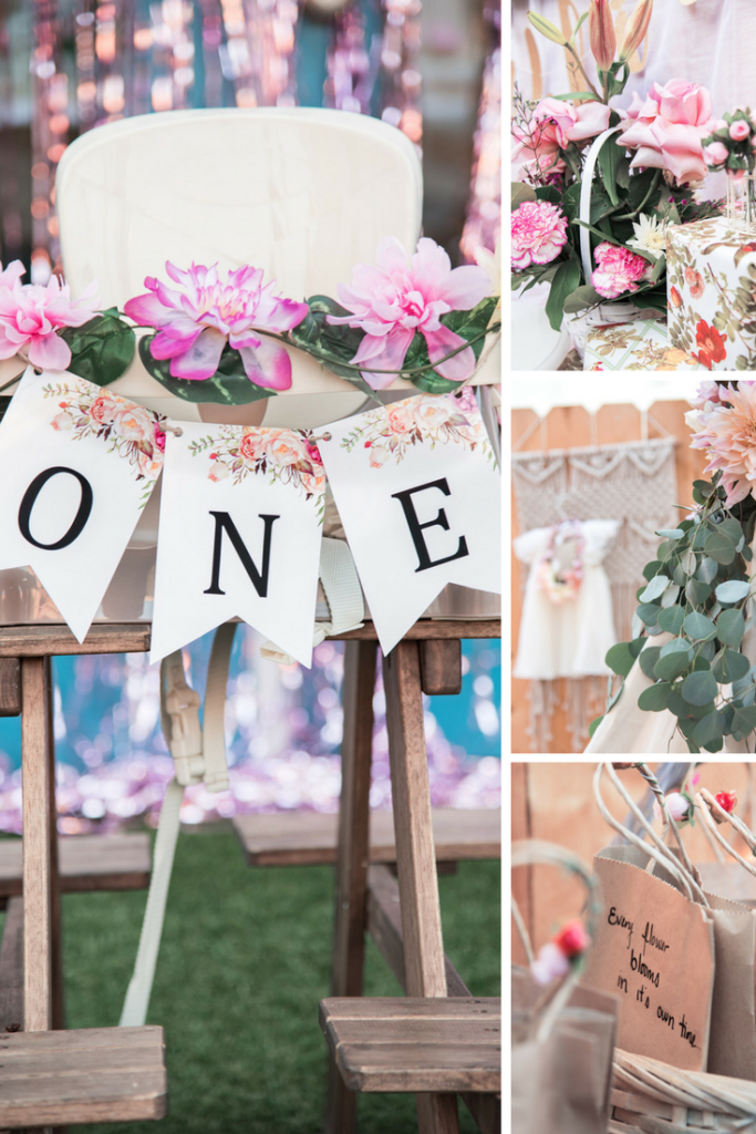 Floral First Birthday Party Inspiration