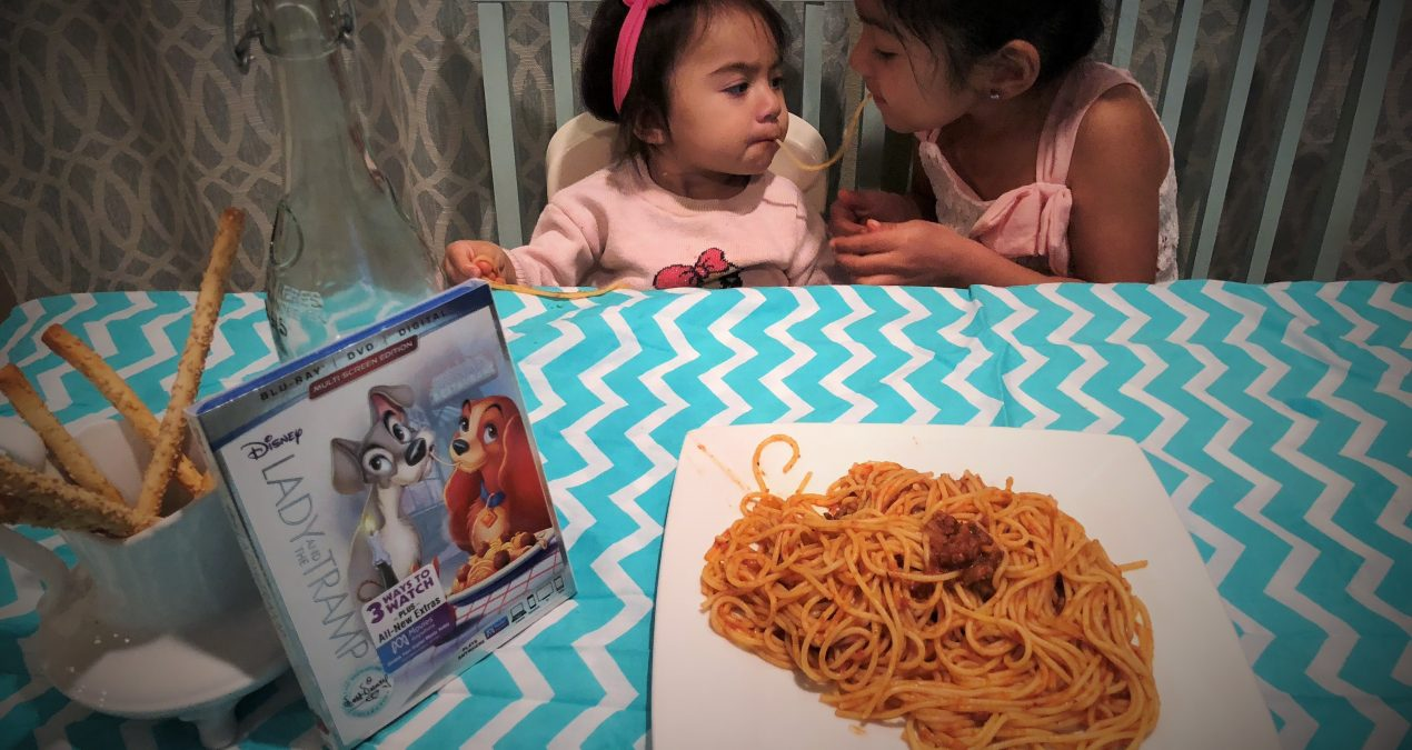 Lady and the Tramp Blu-ray release + Give Away