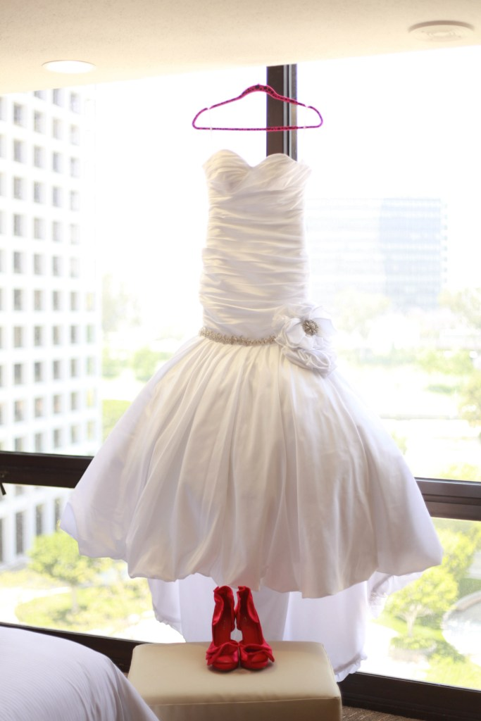 Bonaventure Hotel Wedding Dress
