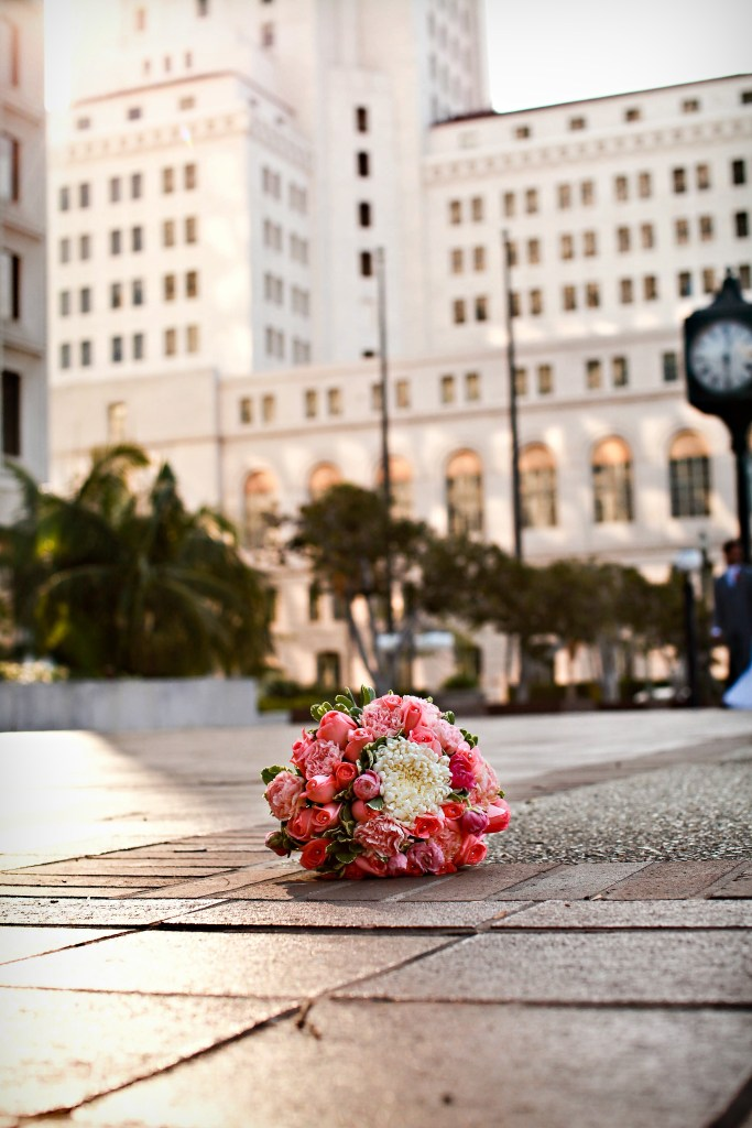 Los Angeles Wedding Bouquet