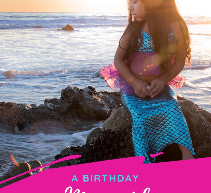 Birthday Mermaid Photoshoot in Malibu