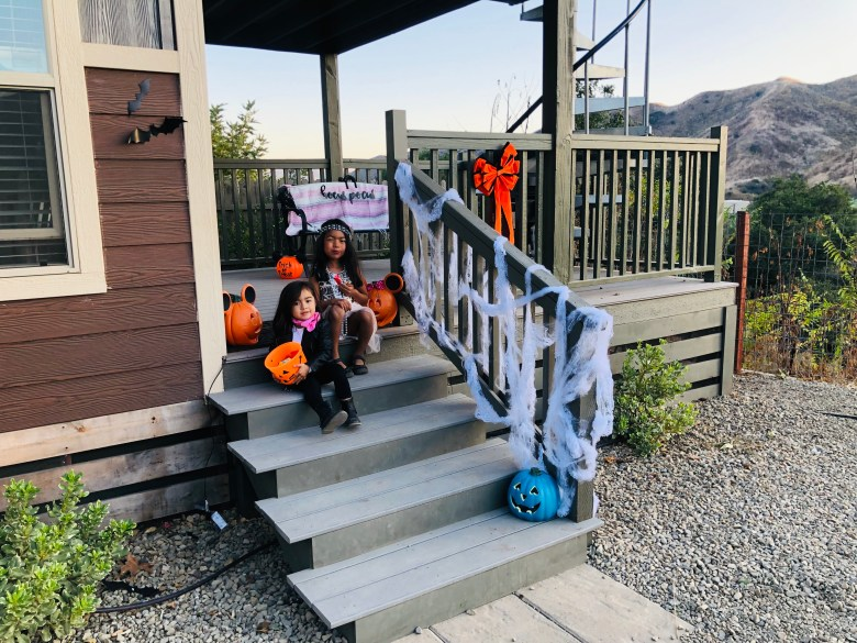 Glamping Halloween KOA Cabins