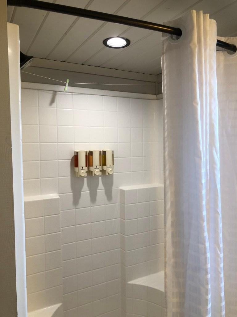 Glamping Showers KOA Ventura