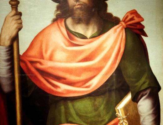 Portrait de Saint Jacques le Majeur
