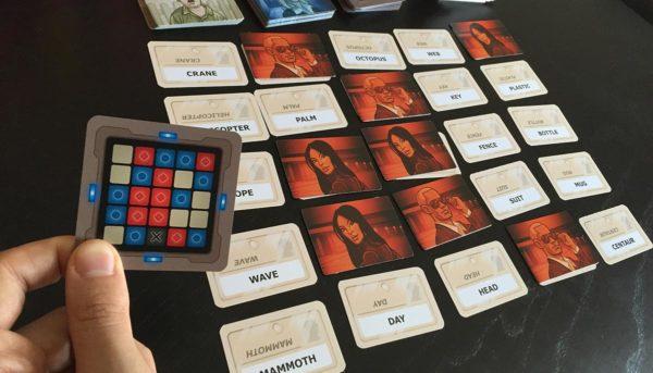 Tablero de juego de Codenames