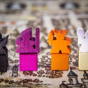 Meeples de Lords of Waterdeep
