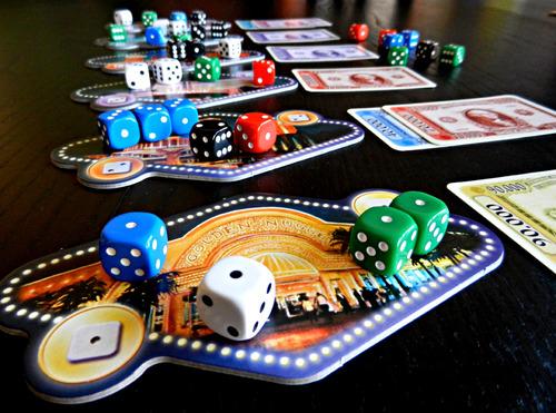 LAs Vegas en la mesa