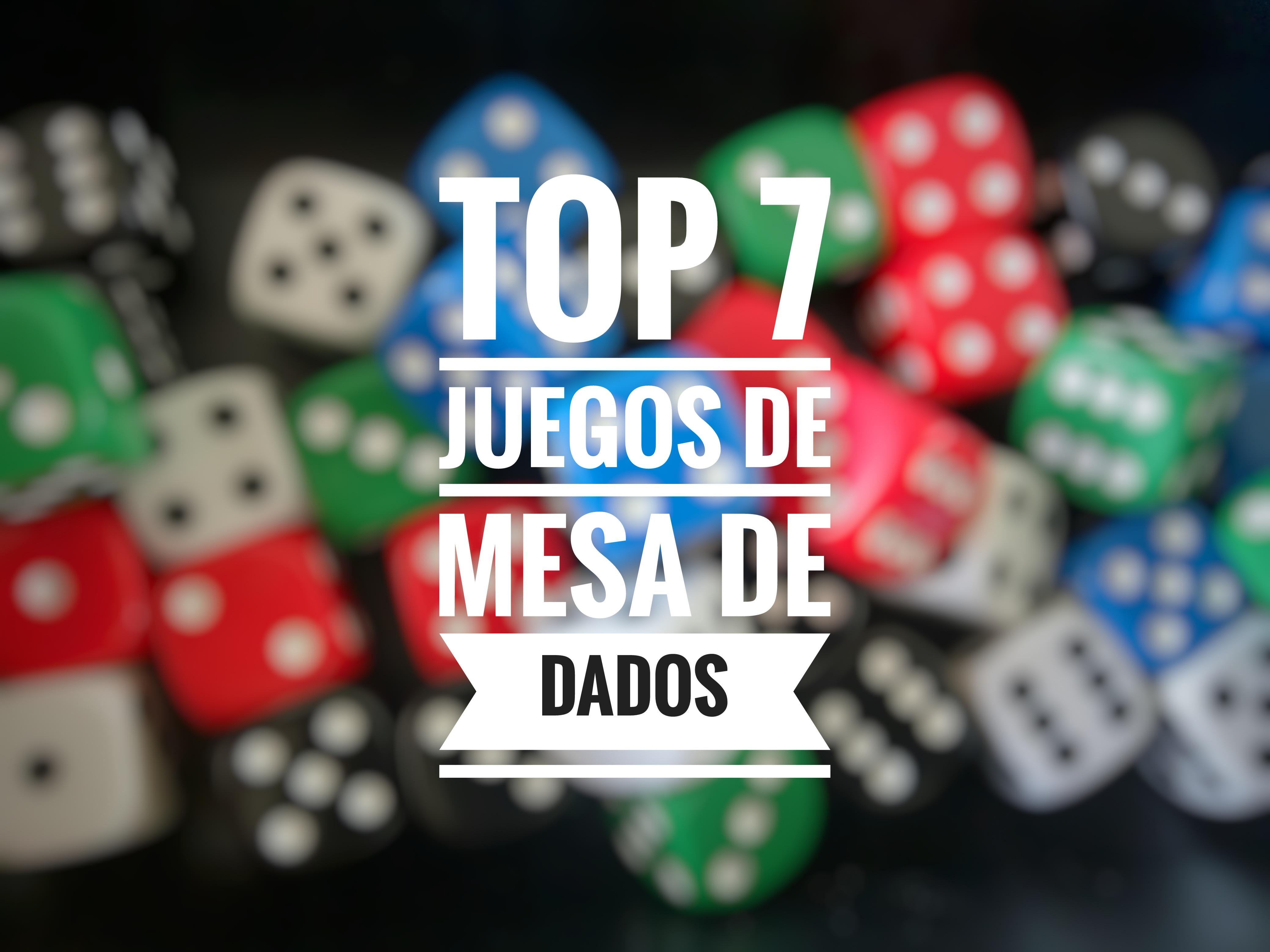 Top 7 Juegos De Mesa De Dados La Matatena