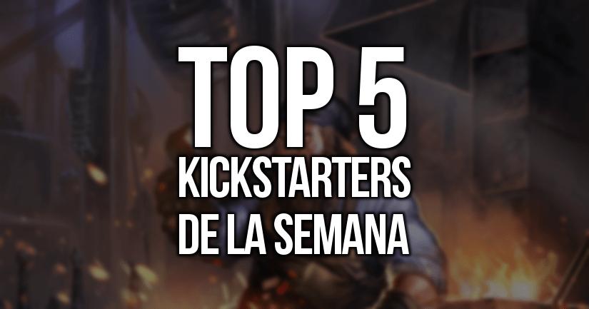 Kickstarters de la Semana (25/09/2017)