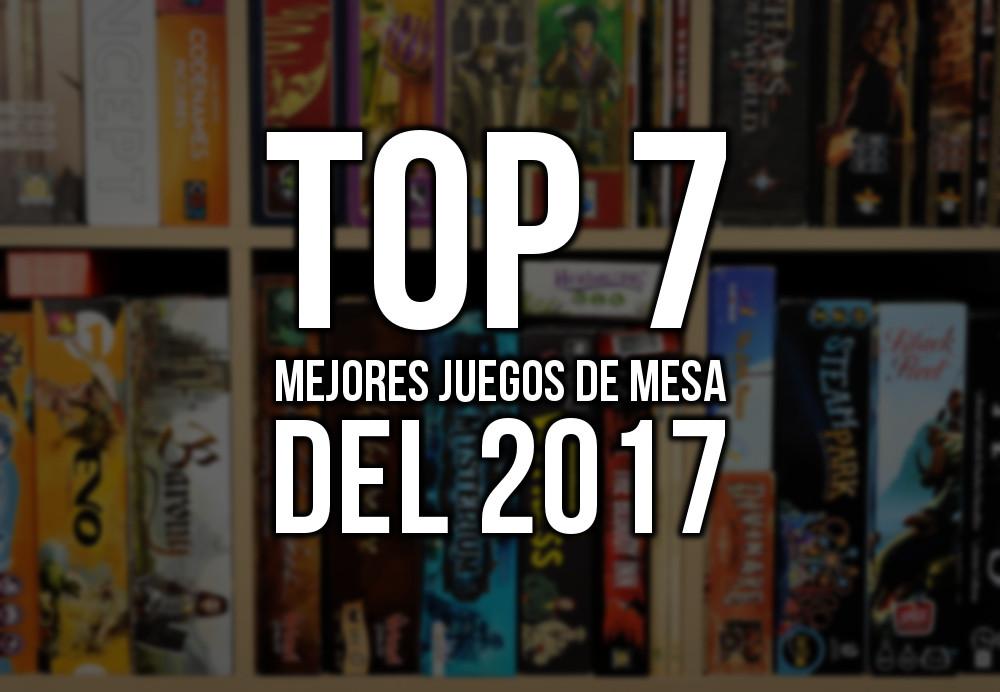 Top 7 mejores juegos de mesa del 2017