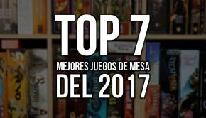 top 7 mejores juegos del 2017
