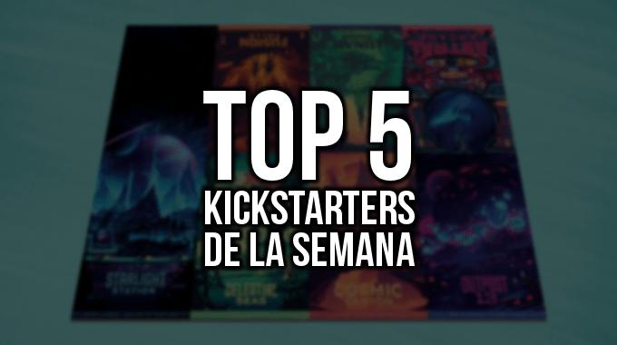 Top 5 Kickstarters de la Semana (12/02/2018)