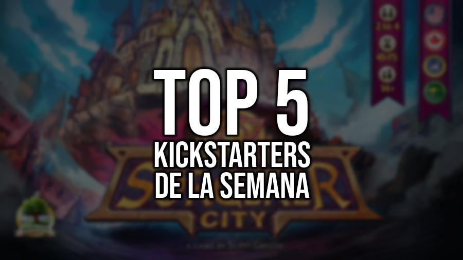 Top 5 Kickstarters de la Semana (12/03/2018)