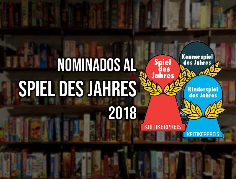 Anunciados los nominados al Spiel des Jahres 2018