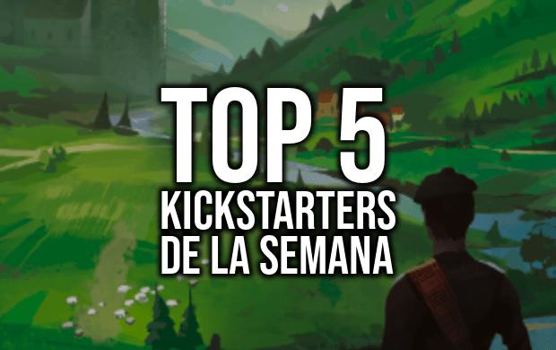 Top 5 Kickstarters de la Semana (18-03-2019)