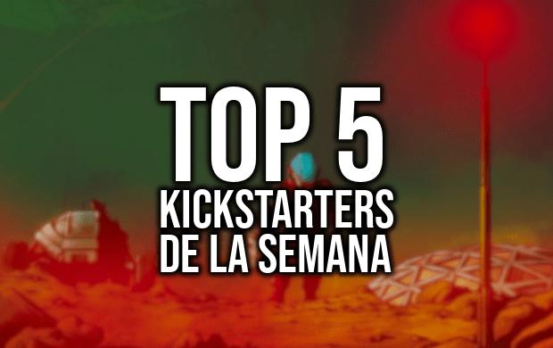 Top 5 Kickstarters de la Semana (23-04-2019)