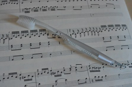 Brosse a dent musicale