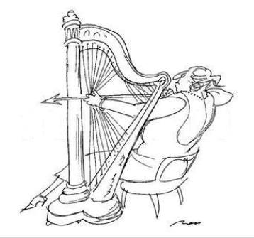 harpiste Crédit photo the Condé Nast Collection