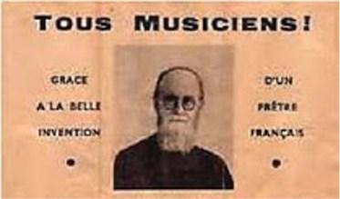 Abbe Jean-Edouard Varin, inventeur de la varinette