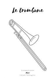 Cliquez sur l'image pour télécharger le coloriage du trombone