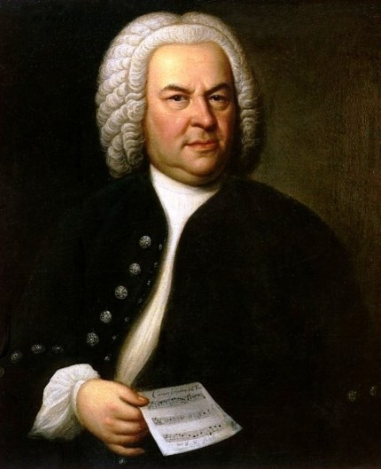 Johann Sebastian Bach portrait Elias Gottlob Haussmann