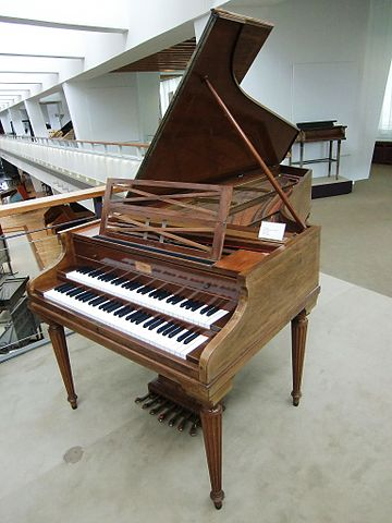 Clavecin Grand Modèle de Concert de Pleyel Musée Berlin