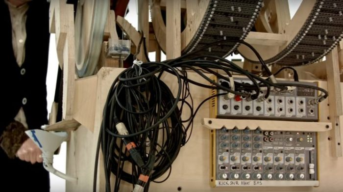 Marble machine table de mixage