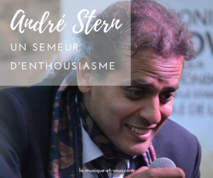 Andre Stern Semeur d'enthousiasme