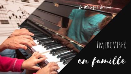 improvisation musicale en famille