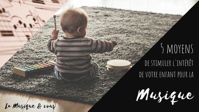bébé musique xylophone